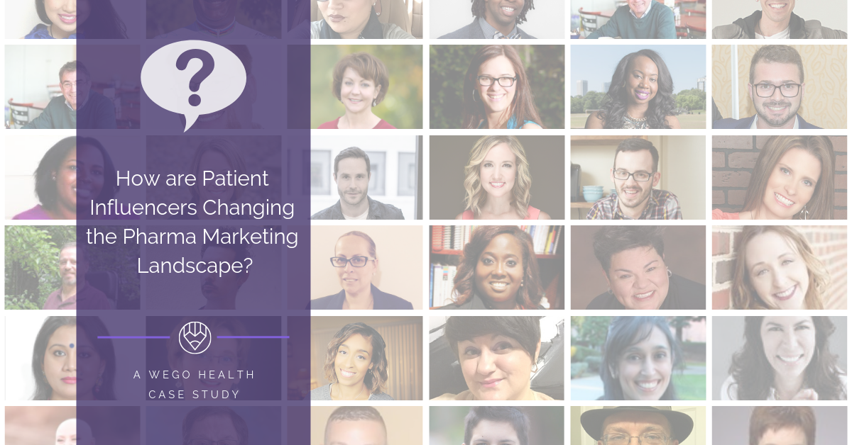 Patient Influencers Change Pharma Marketing